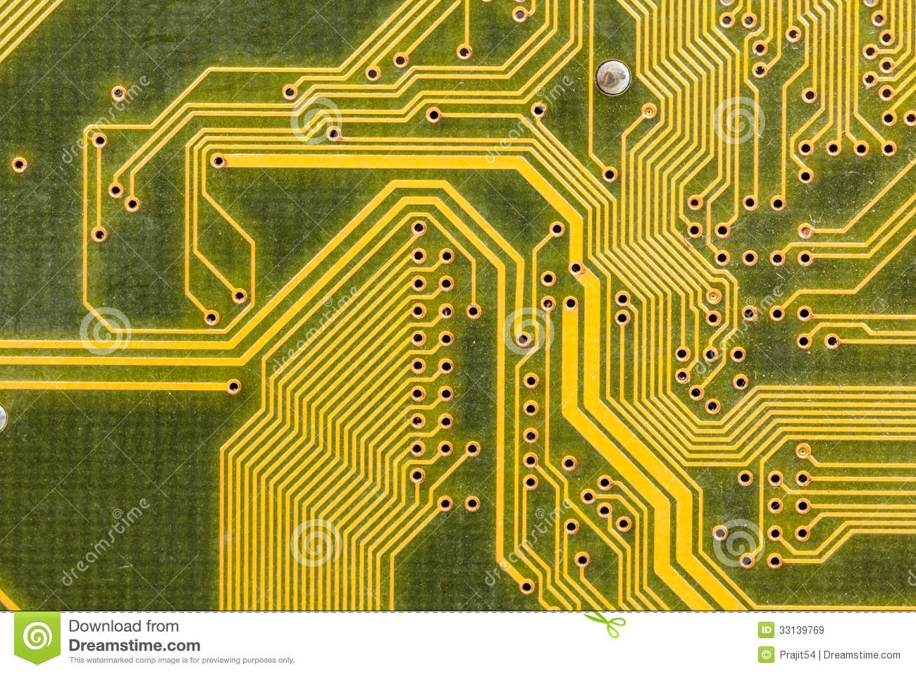 Printed Circuit Board Royalty Free Stock Photos Image 12915608 Detail Of A Rh Broccli Co