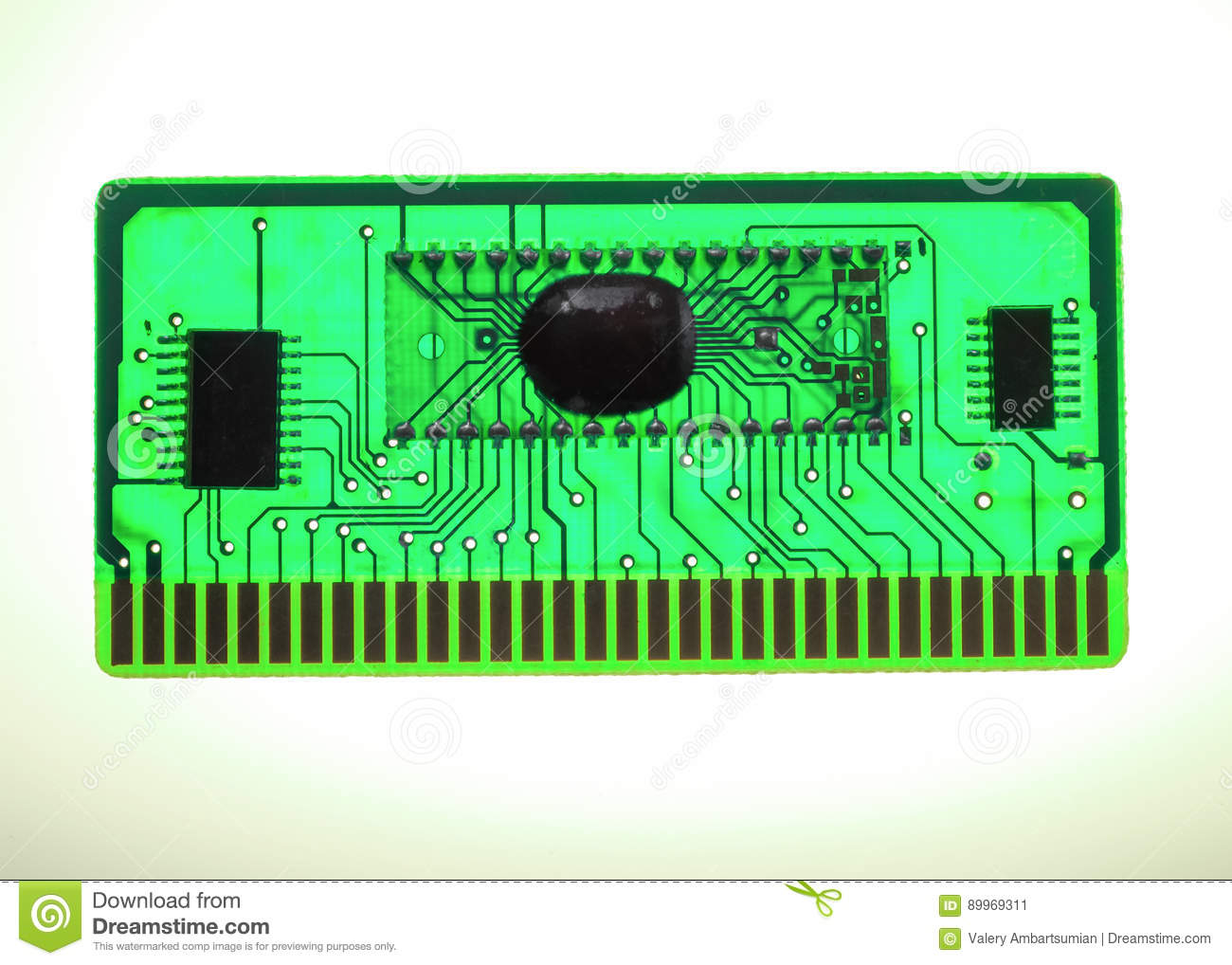 Circuit Board Printed Chip Best Secret Wiring Diagram Green Computer With Electronics Components And Electronic Glowing Royalty Free Stock Chips Purple Clip Art