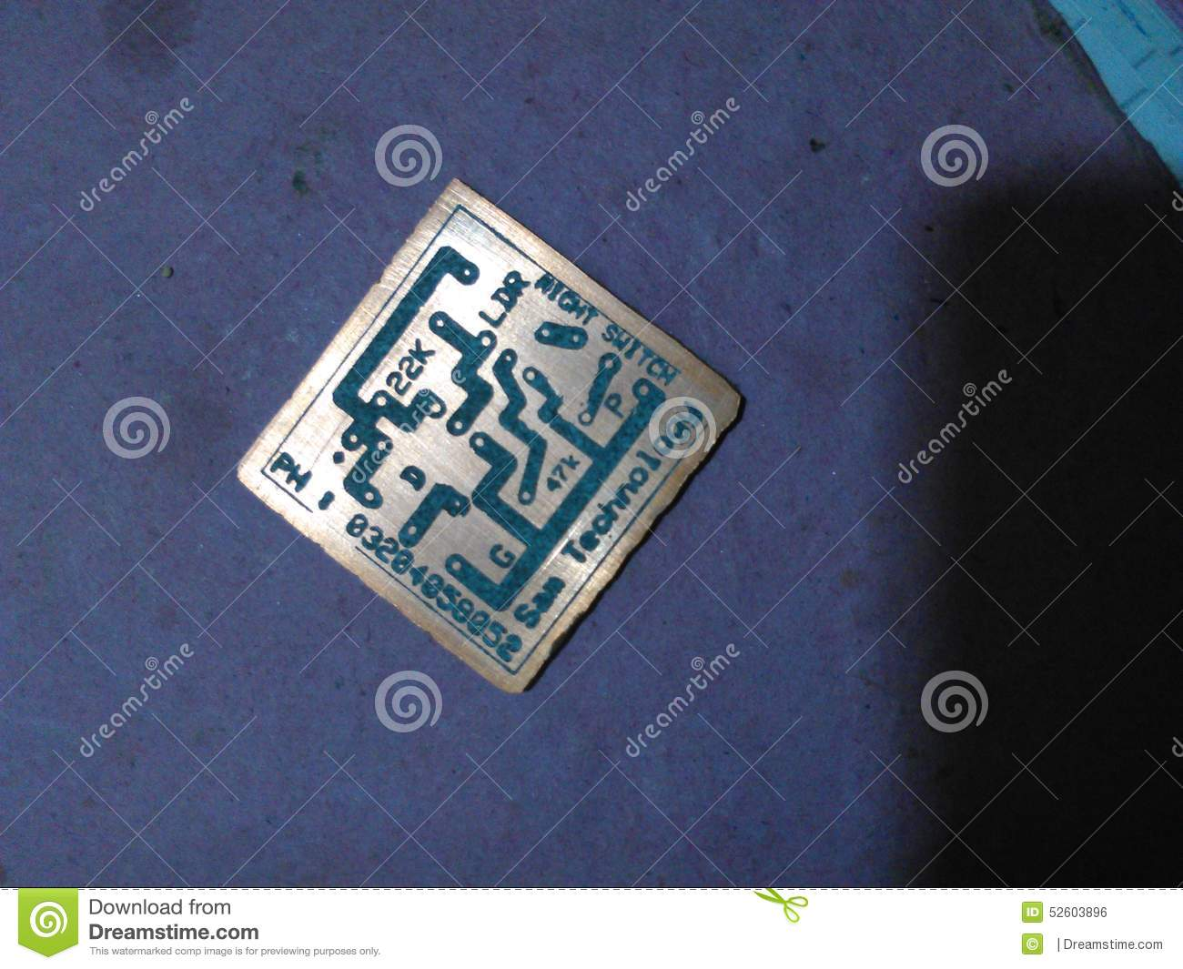 Printed Circuit Board Editorial Photo Image Of Done 52603896 Etching Boards