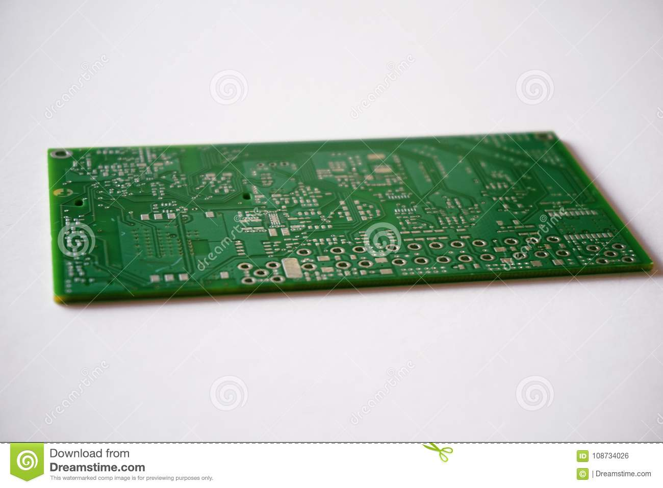 Printed Circuit Board Pcb Stock Photo Image Of Detail 108734026 As Before We Can Copy The Onto A And On White Background