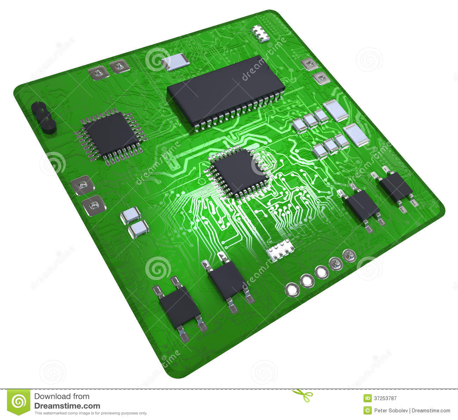 printed circuit board stock illustration illustration of rh dreamstime com