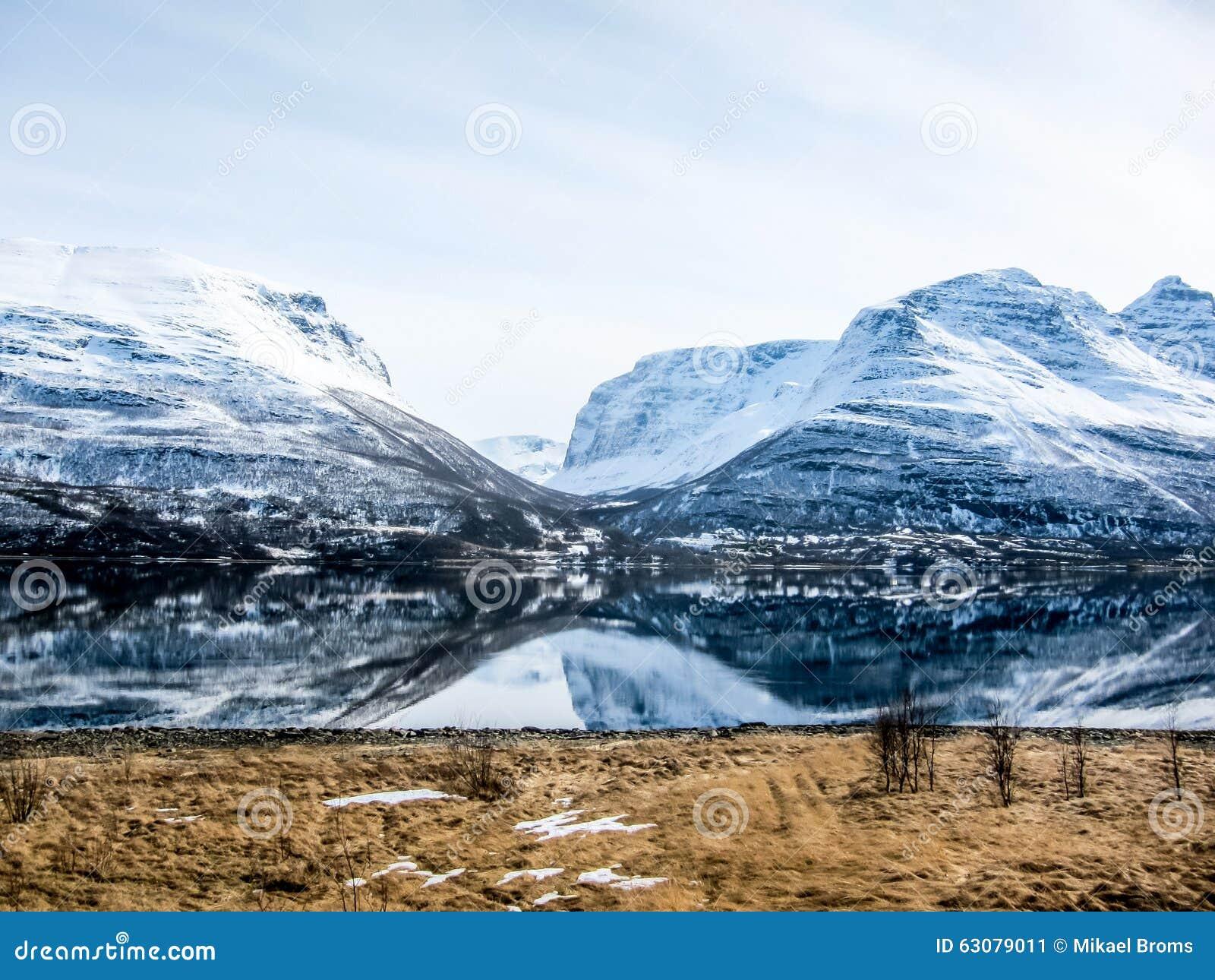 Download Printemps Dans Les Alpes De Lyngen, Norvège Image stock - Image du majestueux, bleu: 63079011