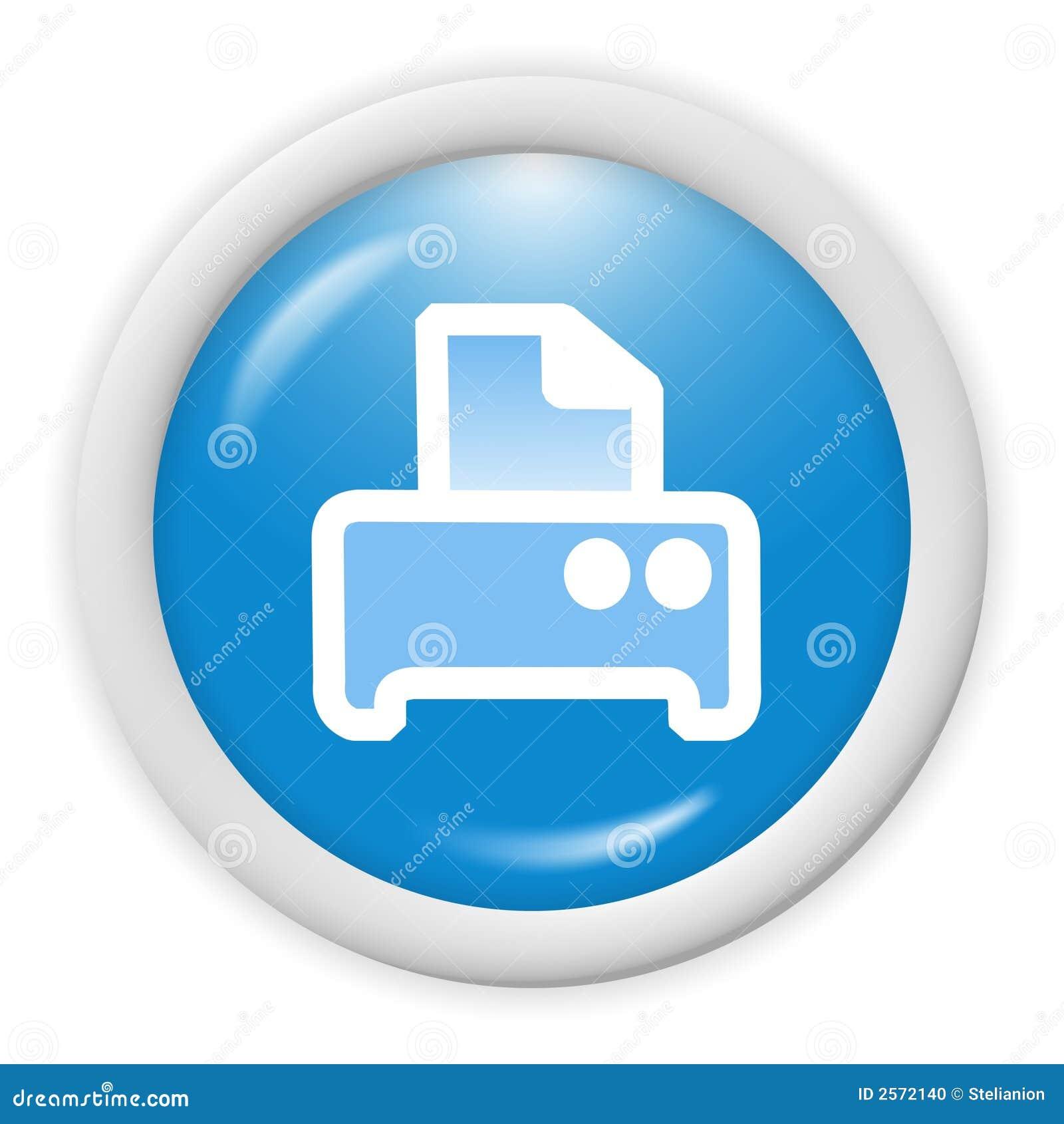 Color Printer Icon Printer icon