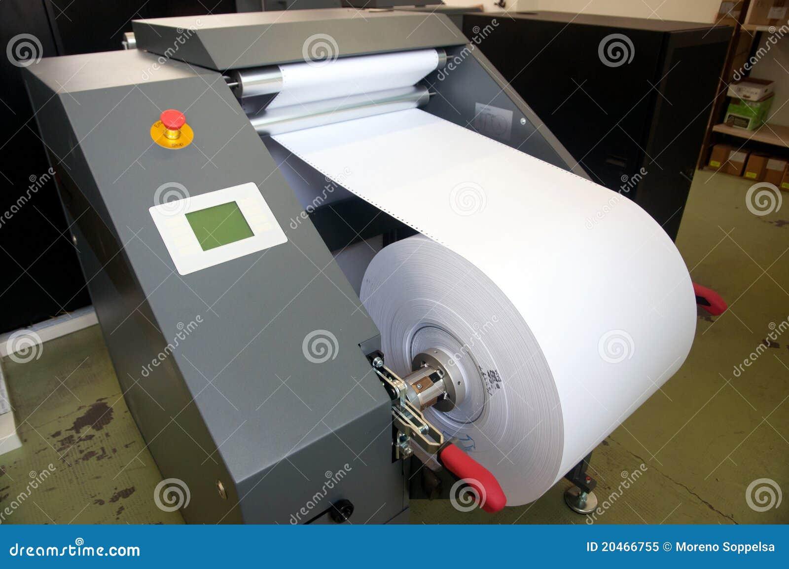Printing för press för digital maskin för detalj