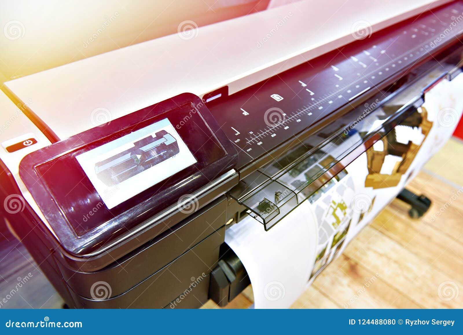 Printing för stort format