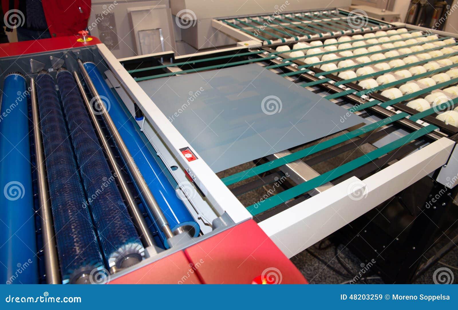 Printingväxt - CTP-dator som pläterar avdelning