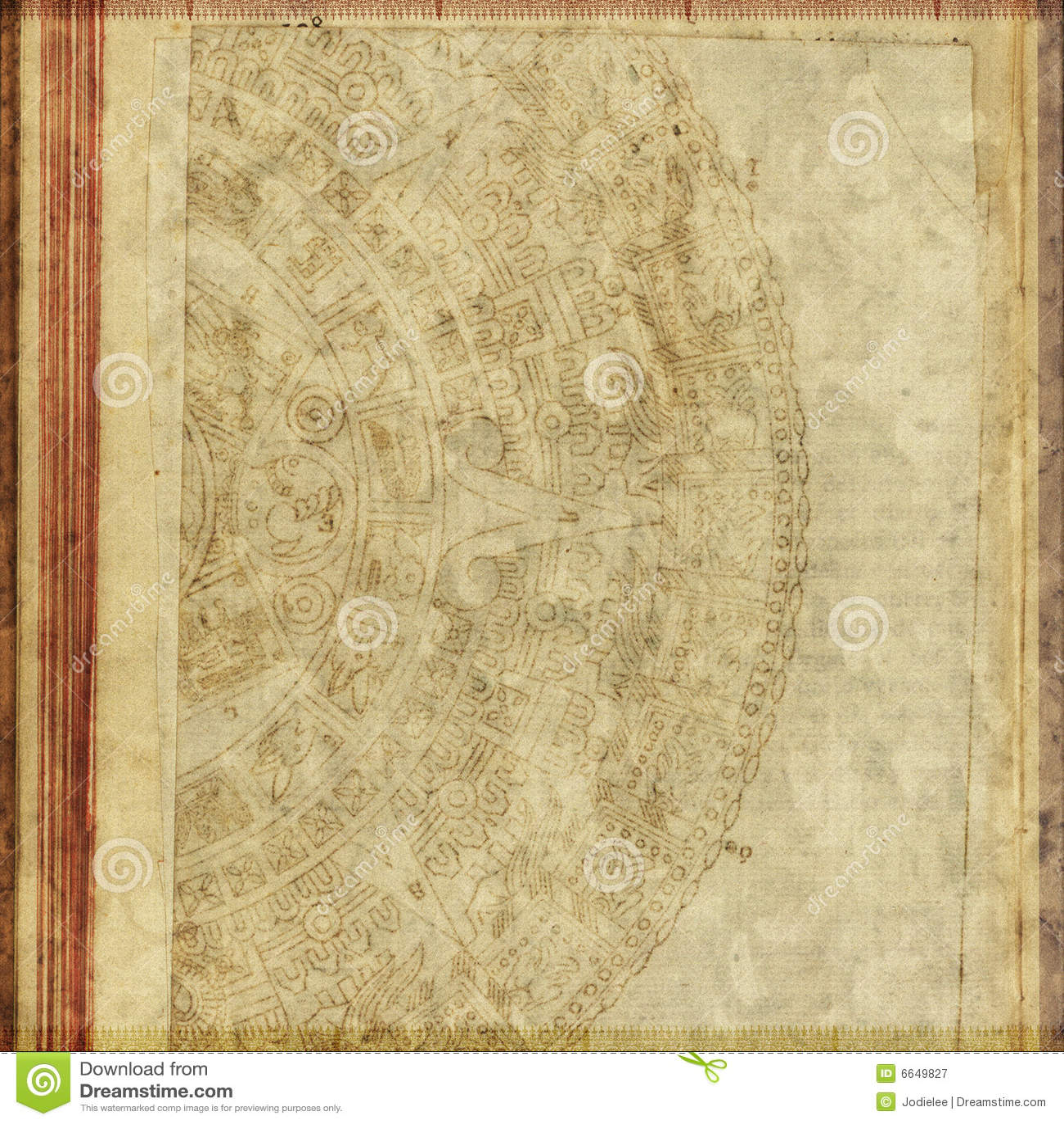 Priorità bassa antica del documento del testo dell annata