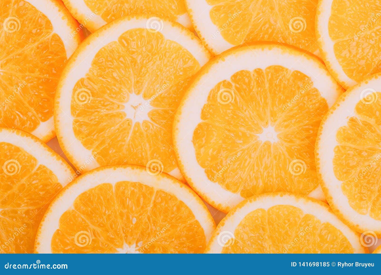 Priorità bassa arancione della frutta Arance di estate Alimento sano