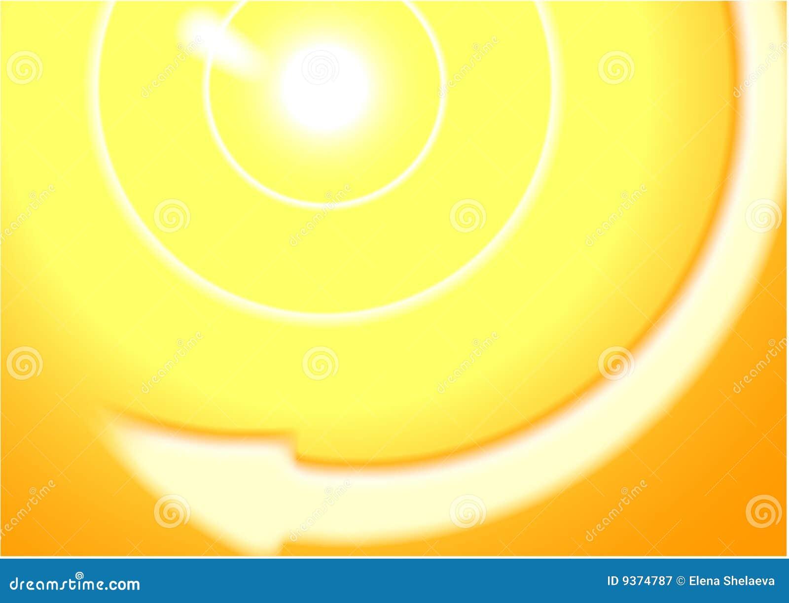 Priorità bassa astratta del sole