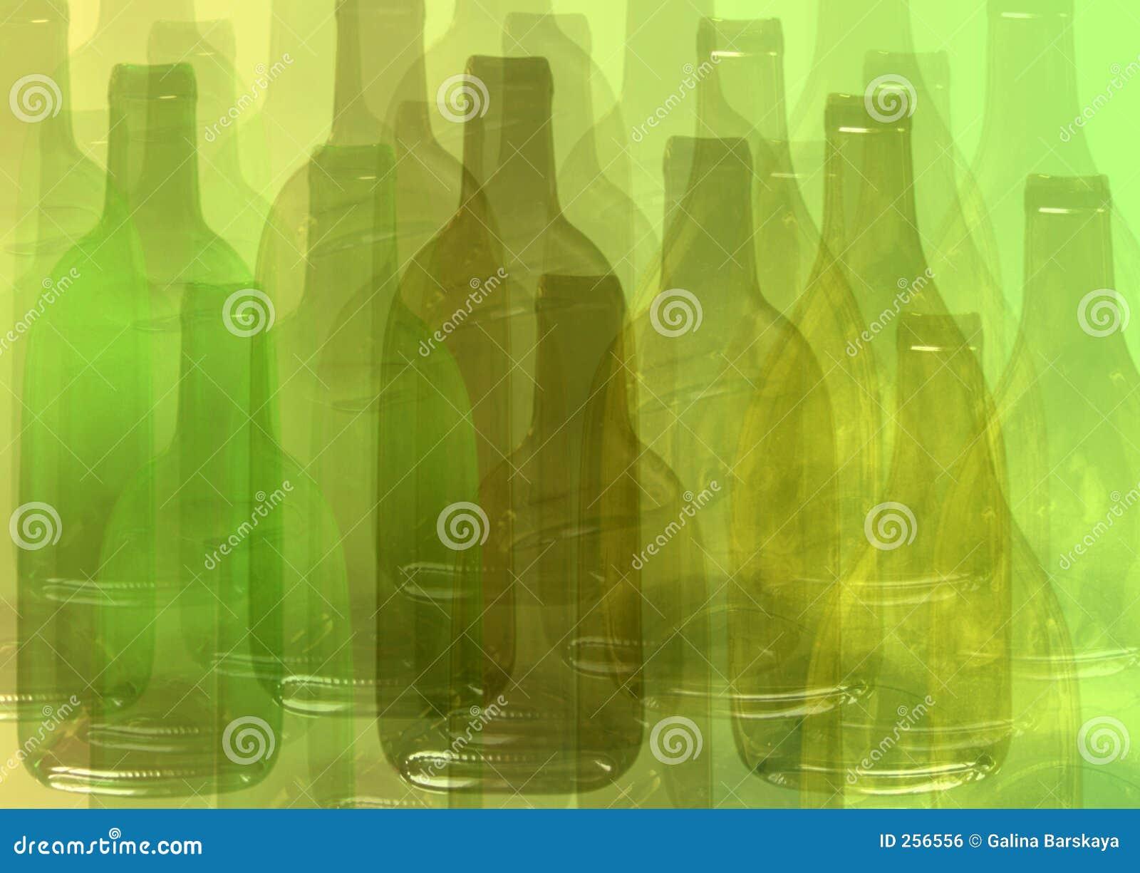 Priorità bassa astratta della bottiglia