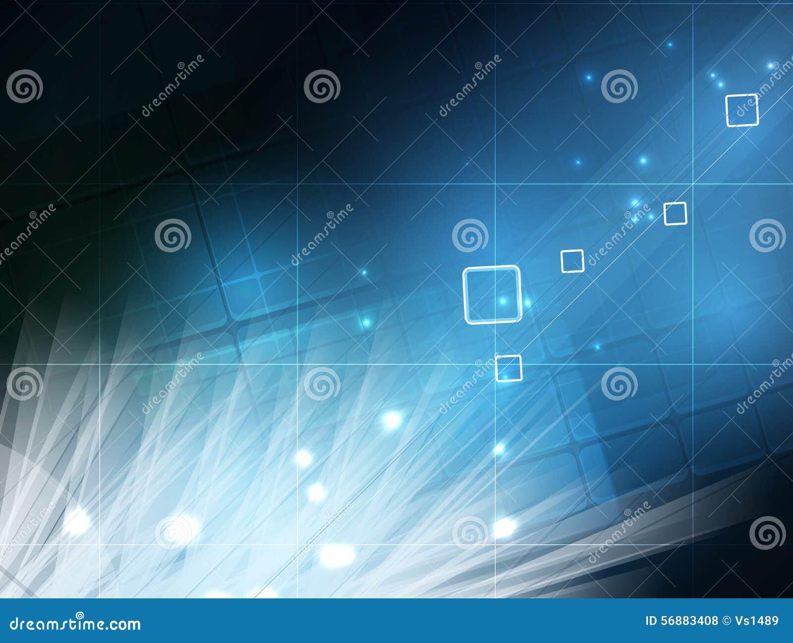 Priorità bassa astratta di tecnologia Interfaccia futuristica di tecnologia Vettore