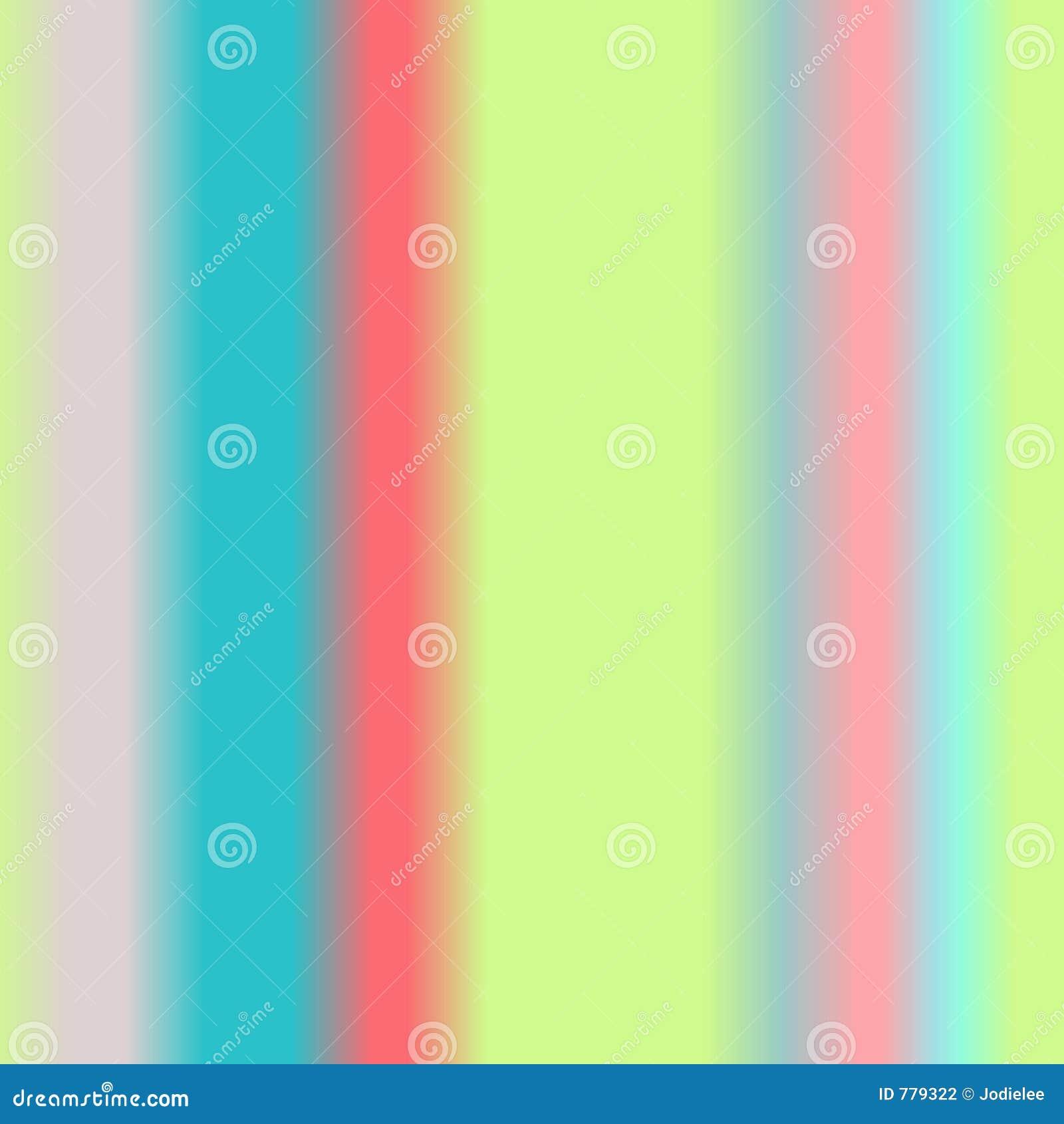 Priorità bassa astratta molle dell acquerello di colore del Rainbow