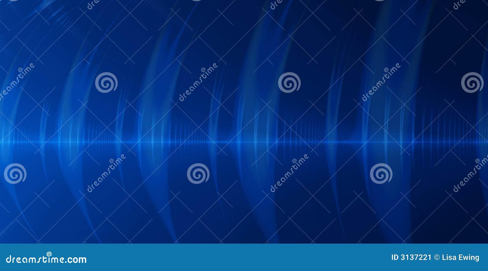 Priorità bassa blu dell estratto dell onda