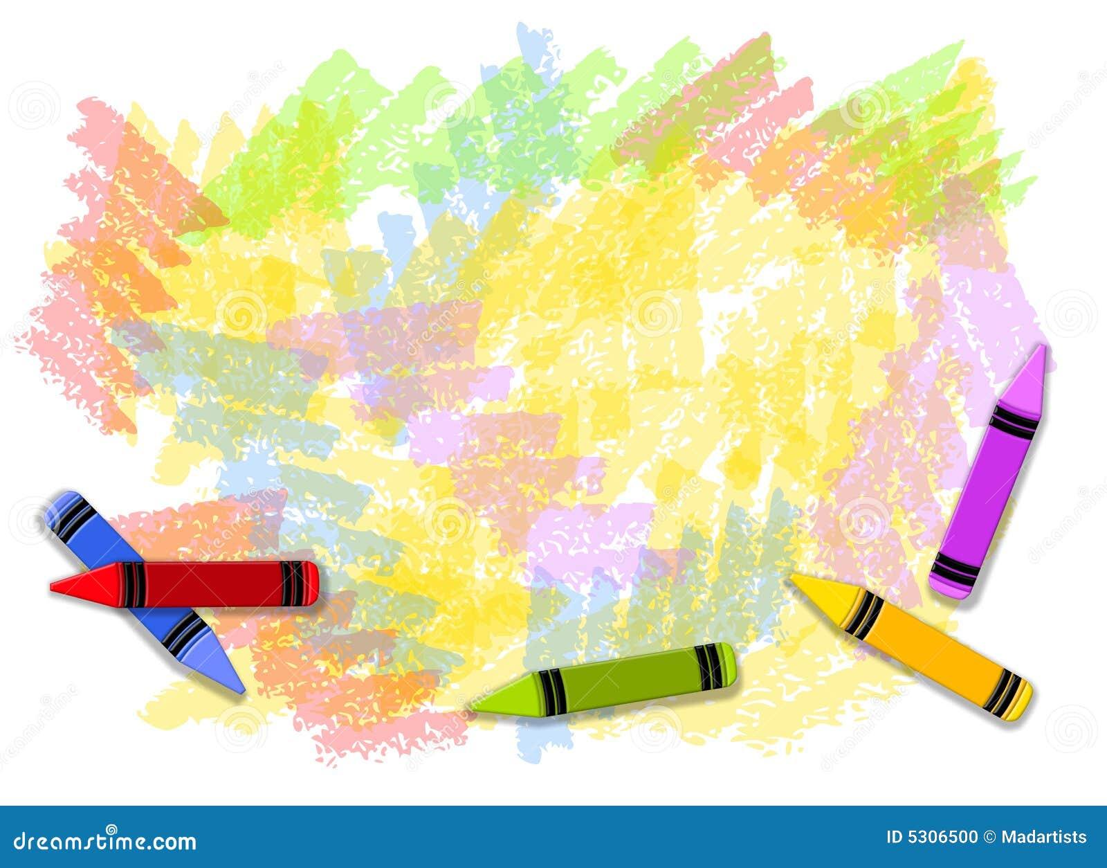 Priorità bassa Colourful dei pastelli