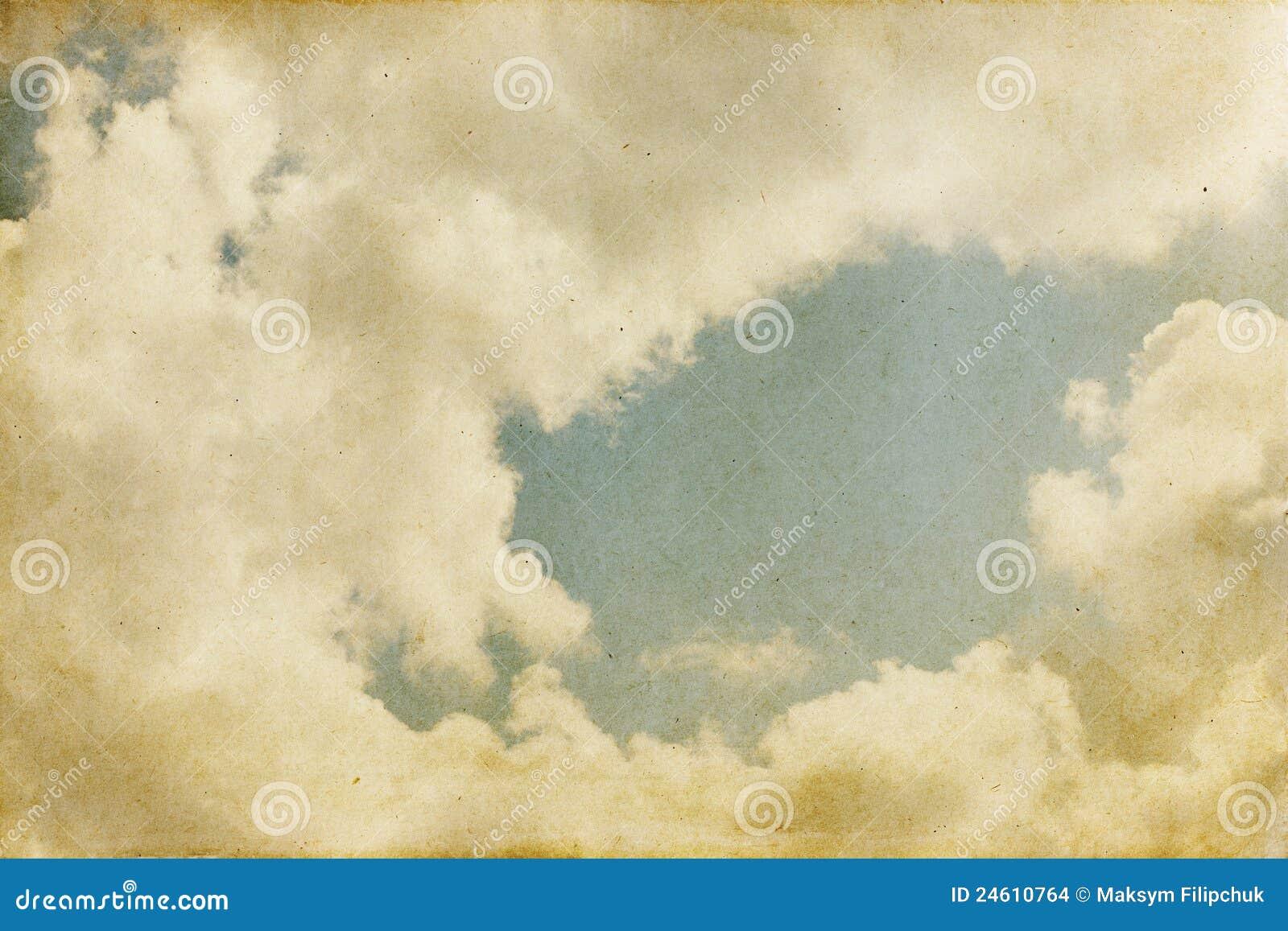 Priorità bassa del cielo dell annata