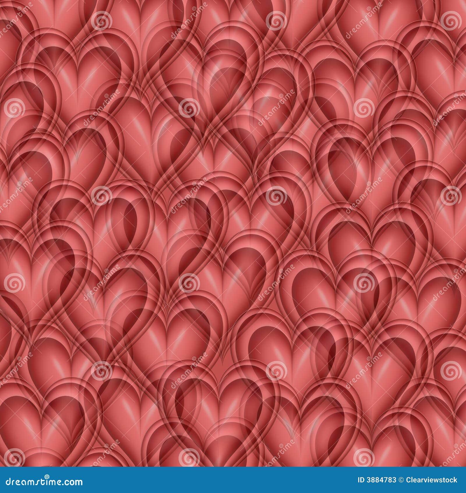 Priorità bassa del cuore dei biglietti di S. Valentino