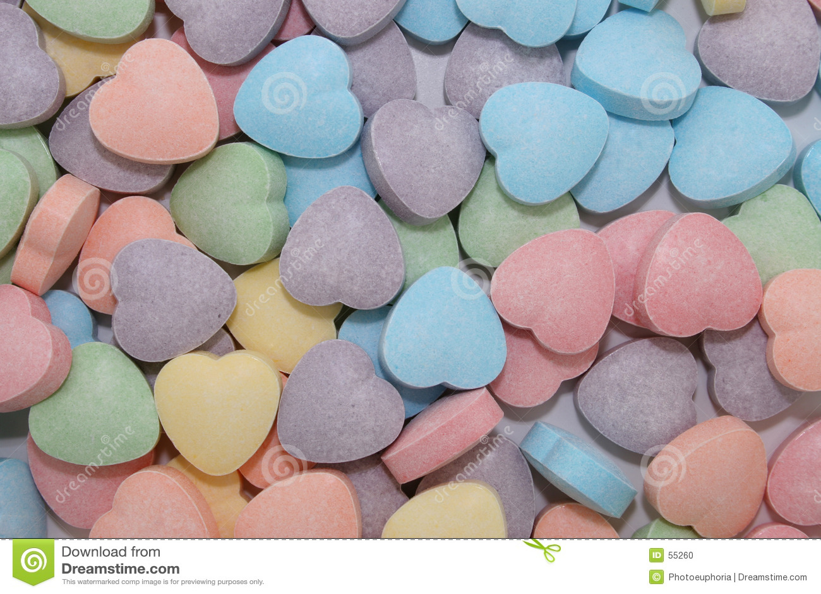 Priorità bassa del cuore della caramella (immagine 8.2mp)