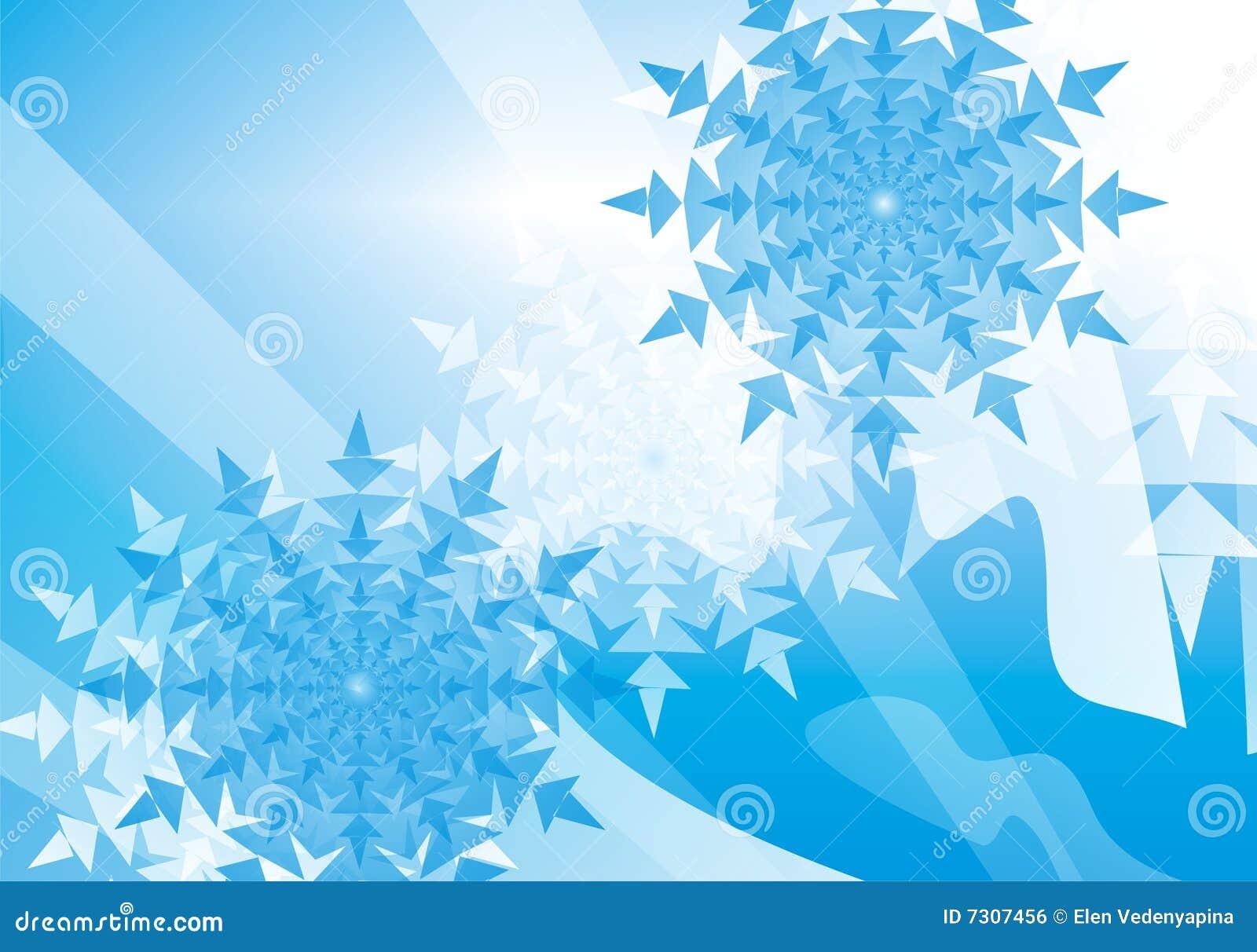 Priorità bassa del fiocco di neve