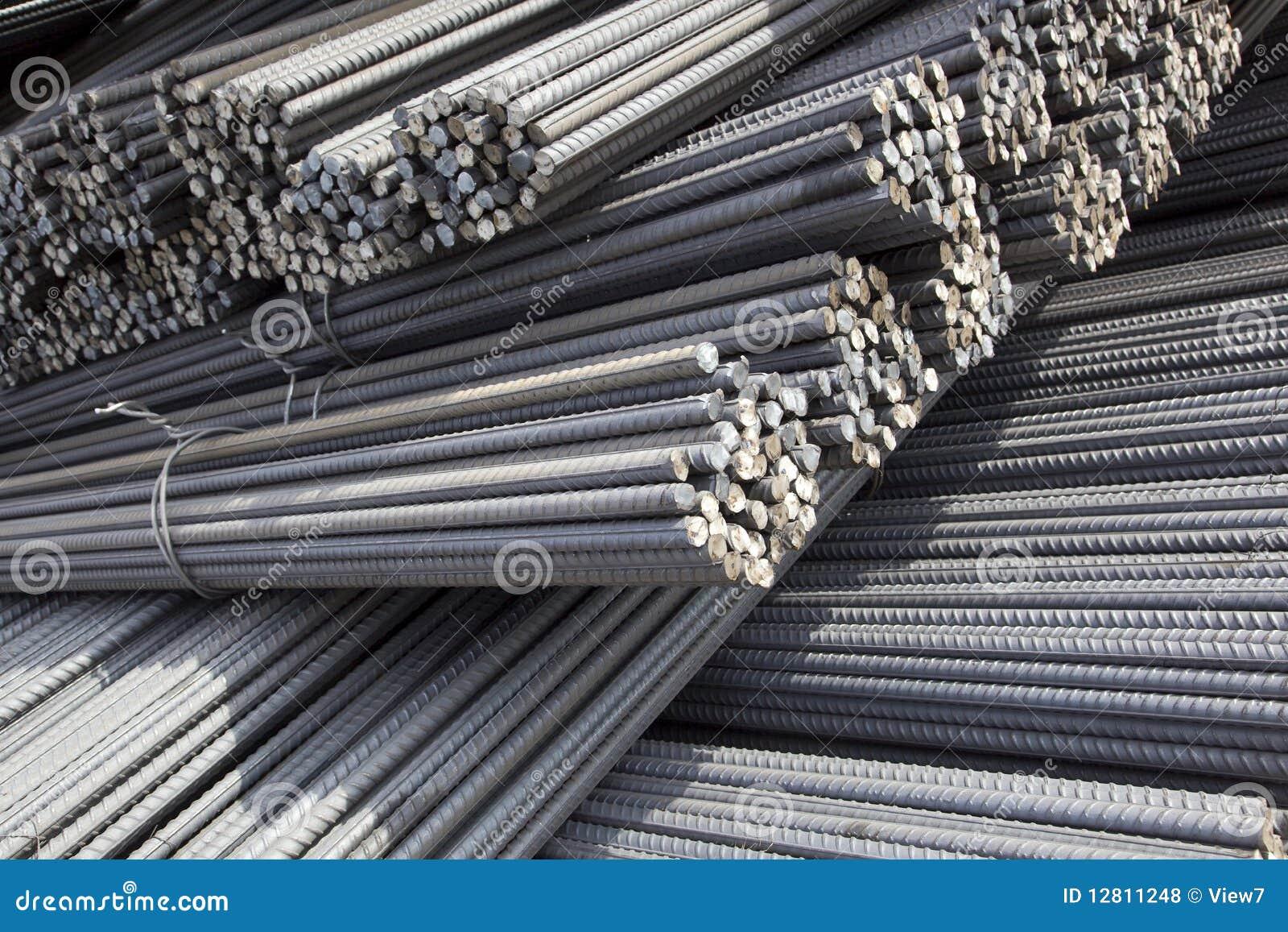 Priorità bassa del tondo per cemento armato