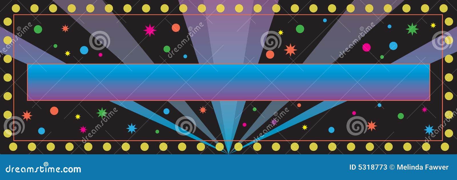 Download Priorità Bassa Della Bandiera Del Partito Illustrazione Vettoriale - Illustrazione di segno, confetti: 5318773