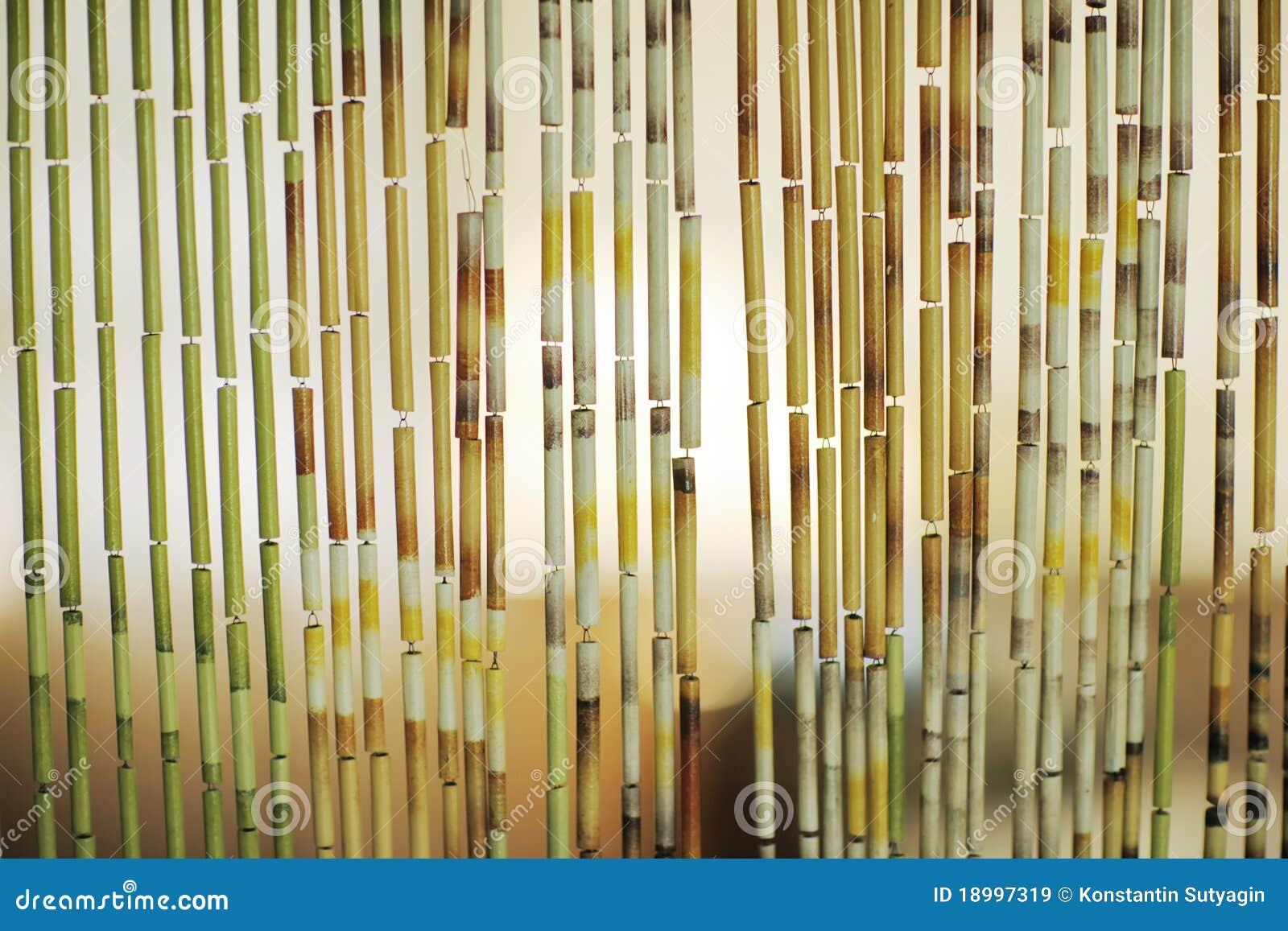 Priorit bassa della tenda di bamb immagini stock libere - Tende in bambu per esterni obi ...