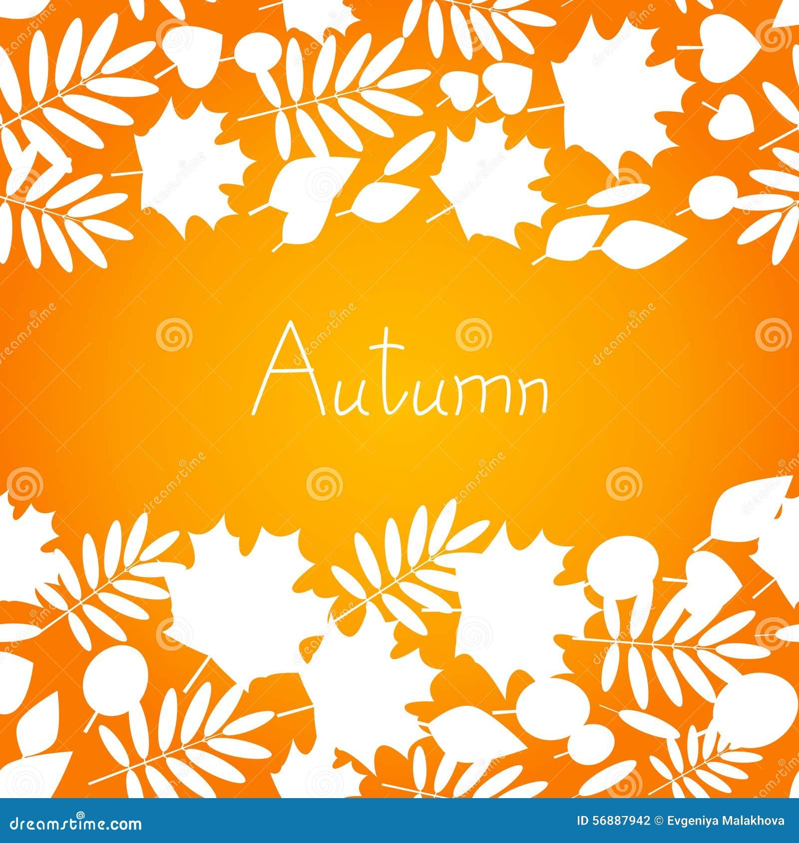 Priorità bassa di autunno per il vostro disegno