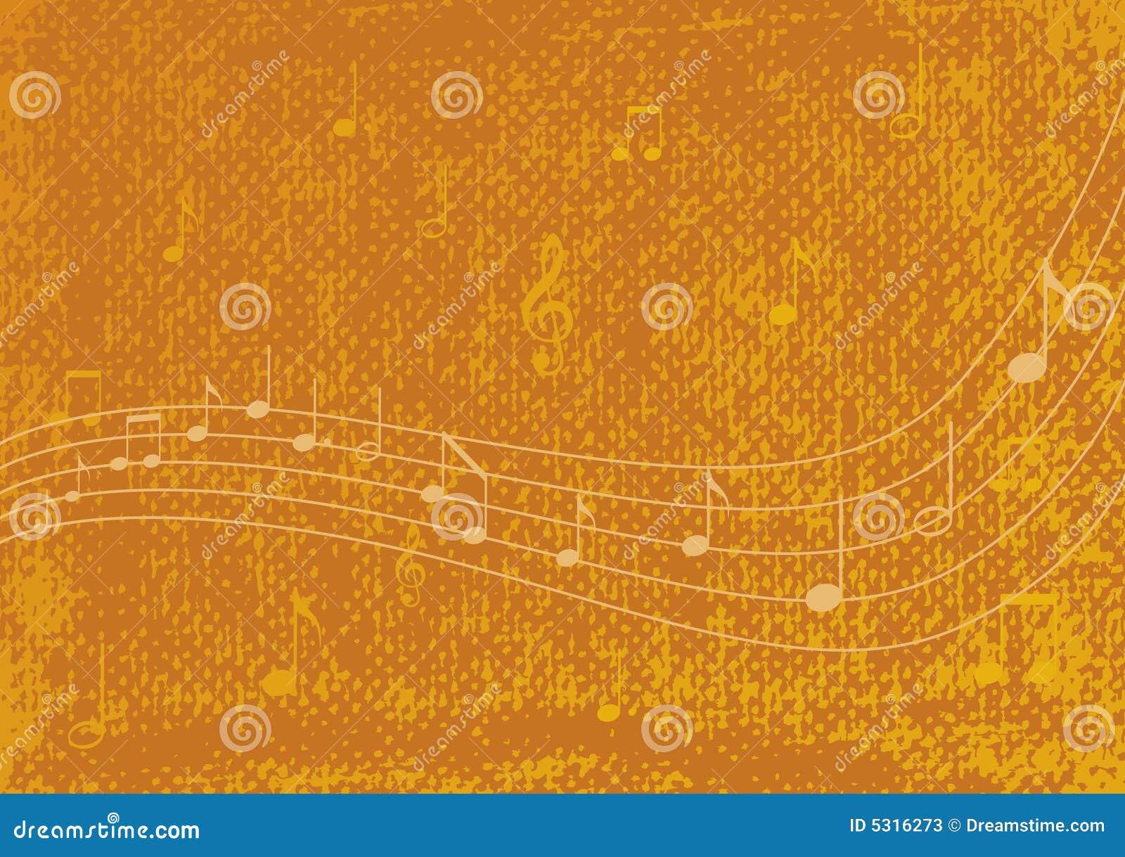 Download Priorità bassa di musica illustrazione vettoriale. Illustrazione di background - 5316273