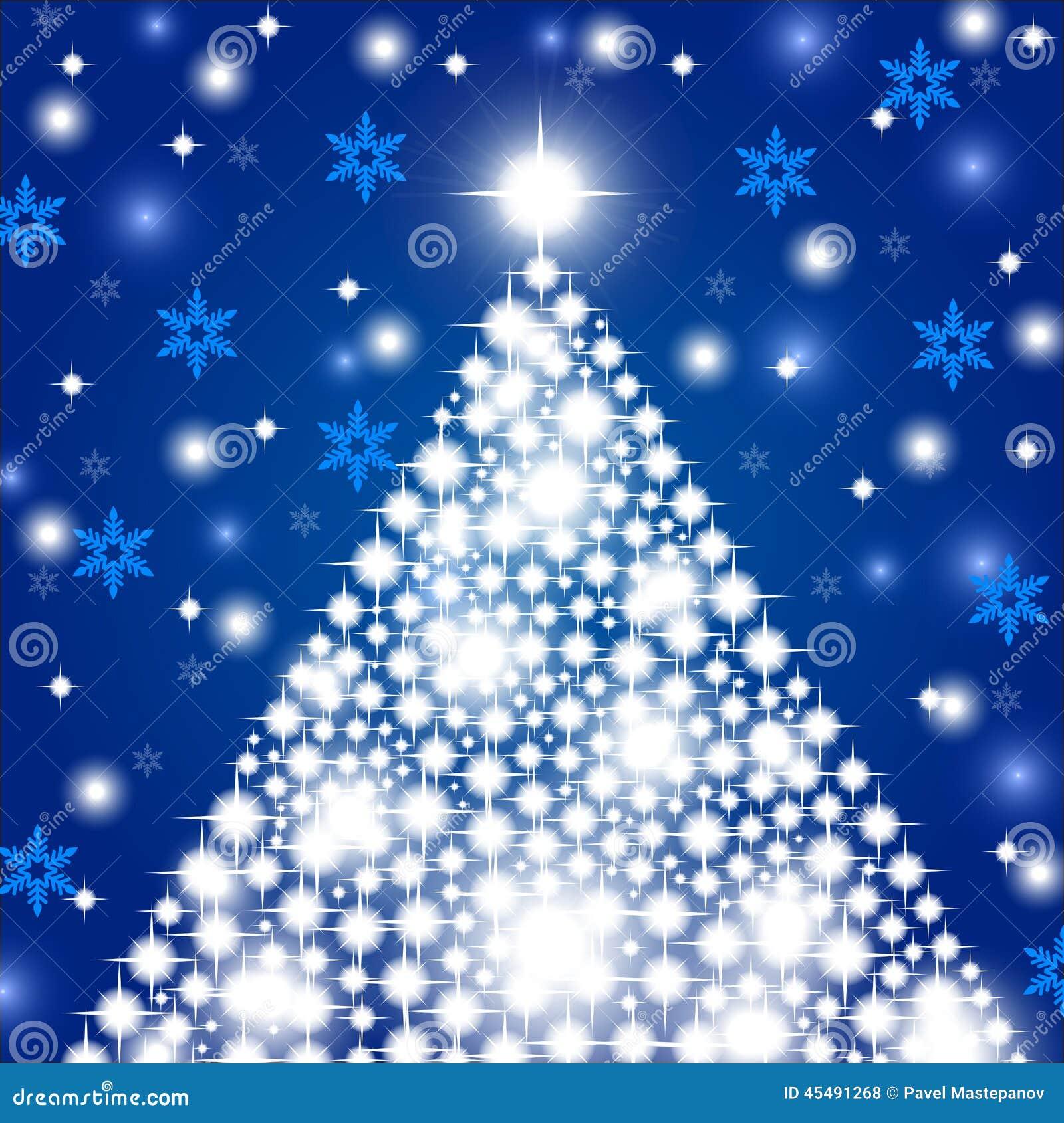 Priorità bassa di natale con l albero di Natale