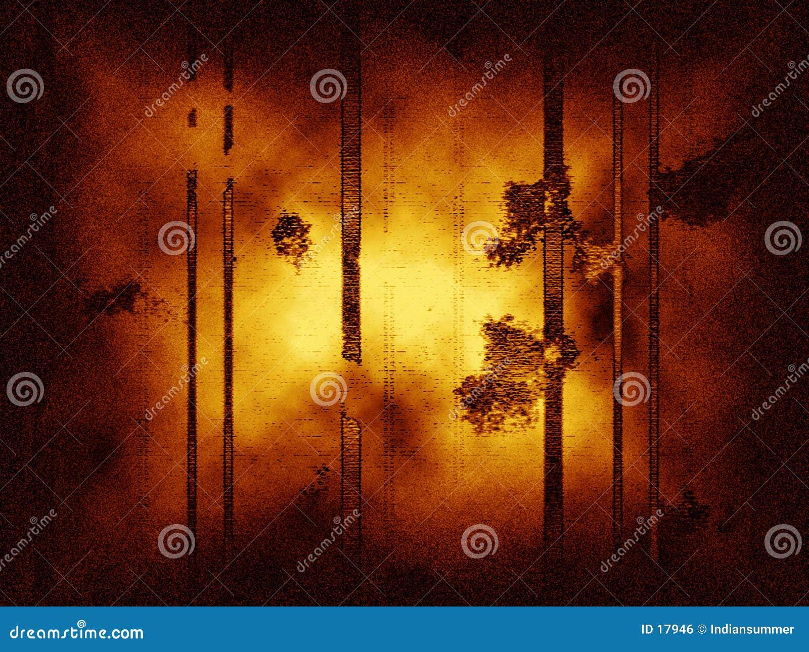 Priorità bassa grungy astratta con le righe verticali, la polvere ed il disturbo.