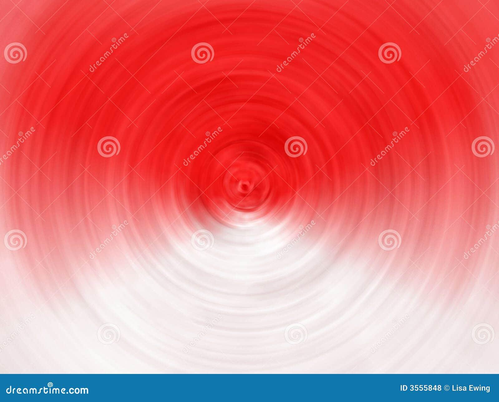 Priorità bassa a spirale bianca rossa