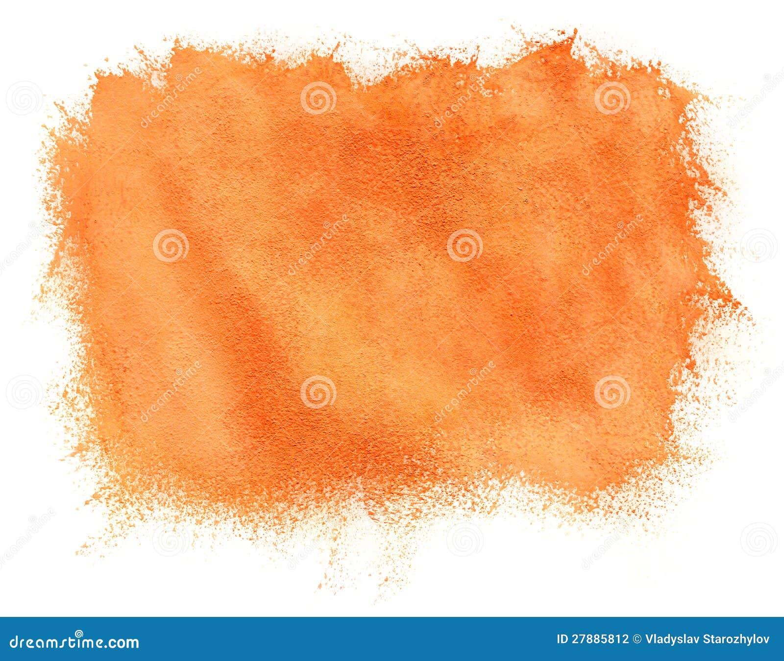 Priorità bassa verniciata dell arancio dell acquerello