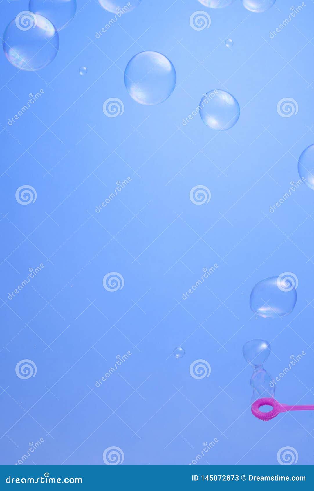 Priorit? bassa delle bolle di sapone