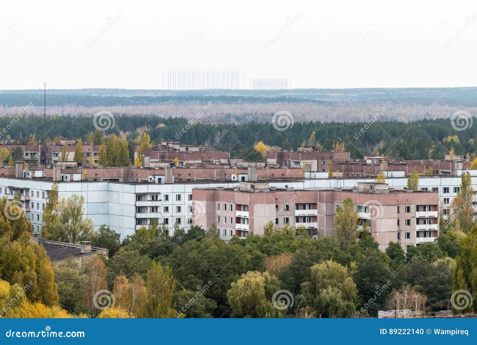 Pripyat鬼城在乌克兰