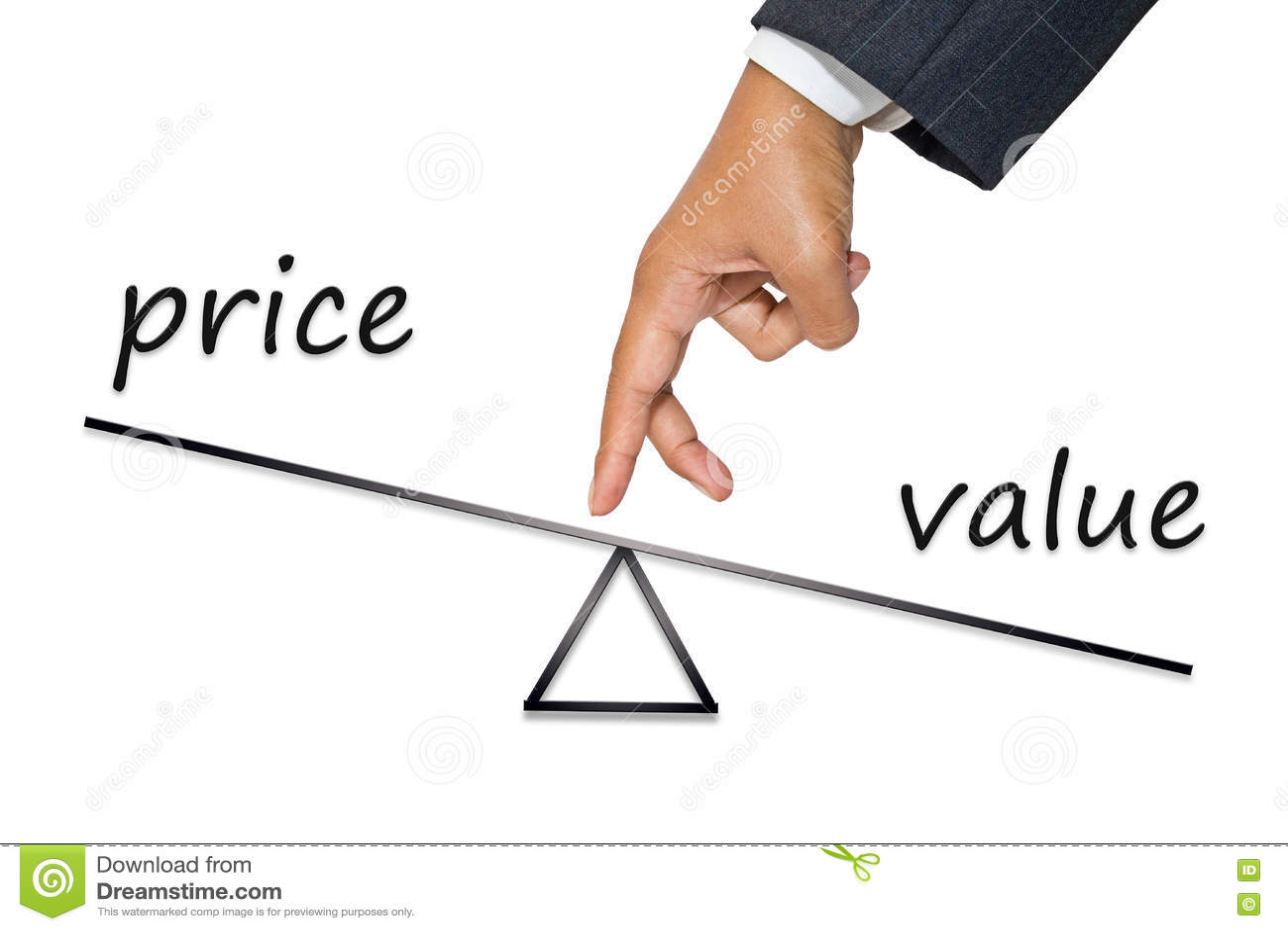 Pris- och värdejämvikt