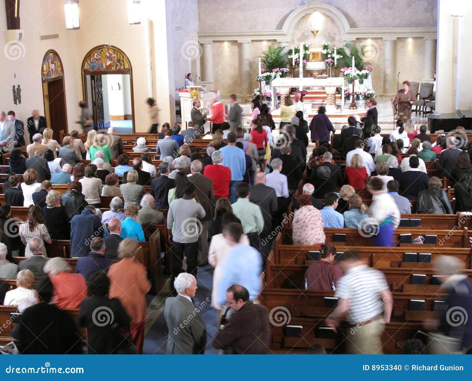 Prise de la communion