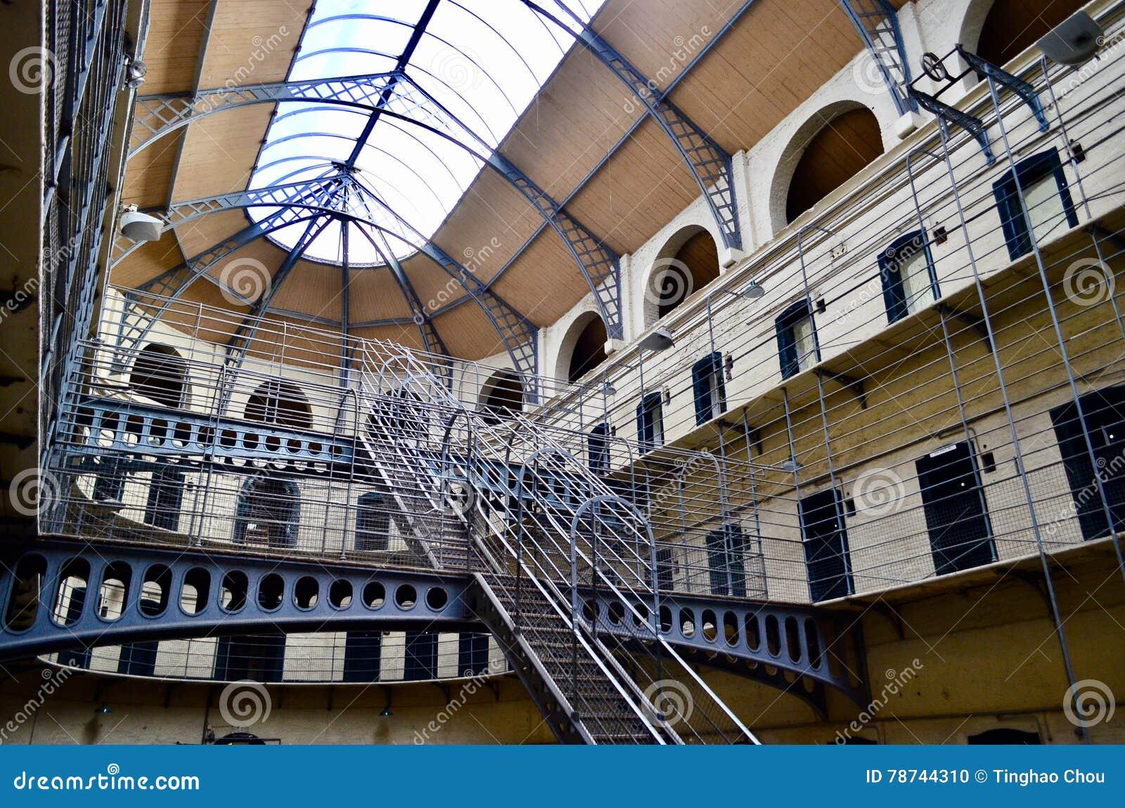 Prisión de la cárcel de Kilmainham Dublín, Irlanda