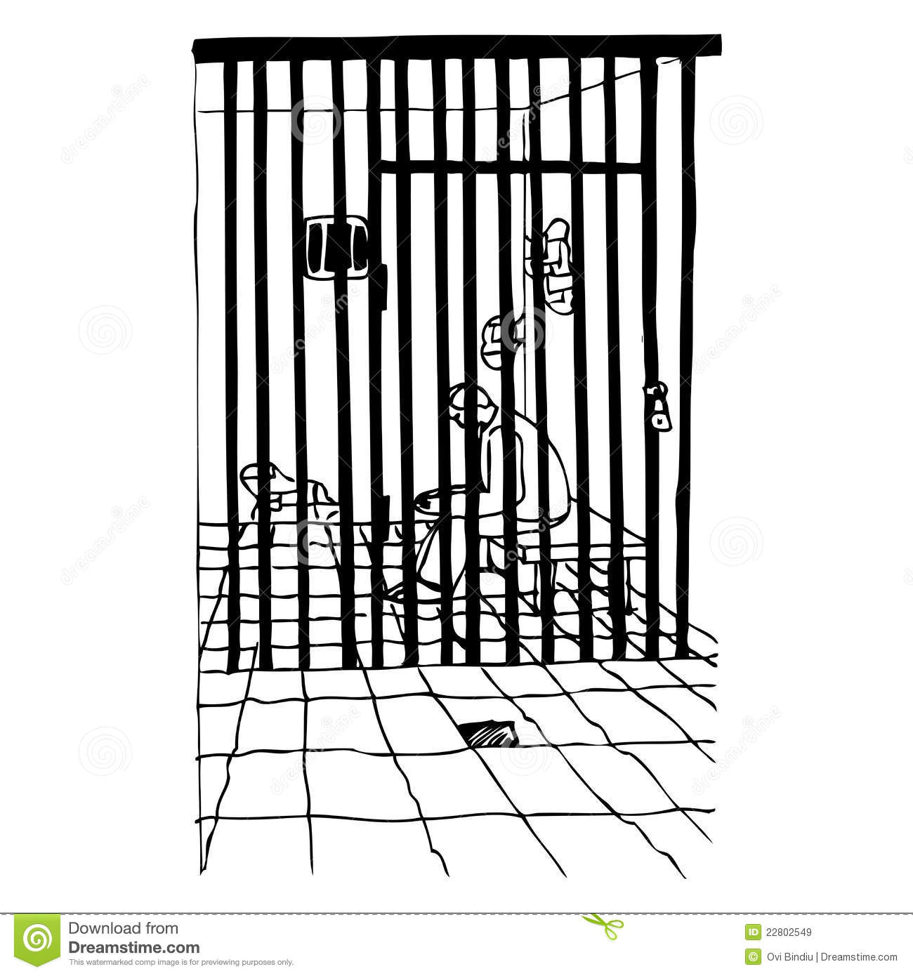 In Prison Royalty Free Stock Images Image 22802549