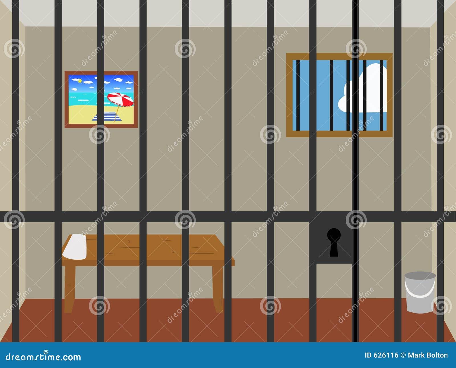 Fängelse tecknat
