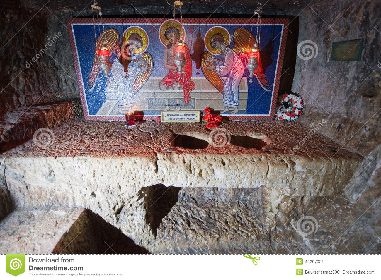 the prison of christ editorial photo   image 49297031