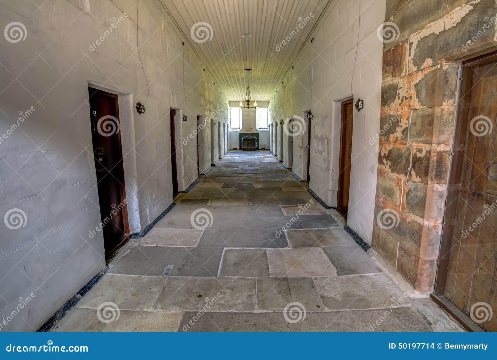 Prison distincte dans le port Arthur Tasmania