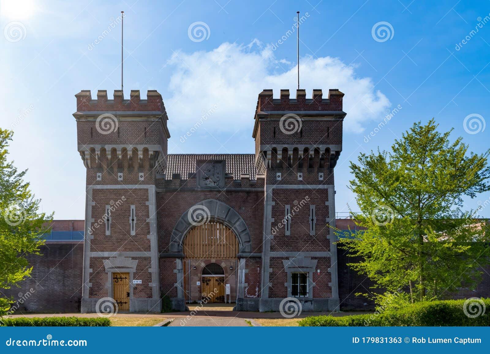 Prison Hague Penitentiary Institution In Scheveningen, The Hague,  Netherlands Stock Image - Image of iconic, institution: 179831363