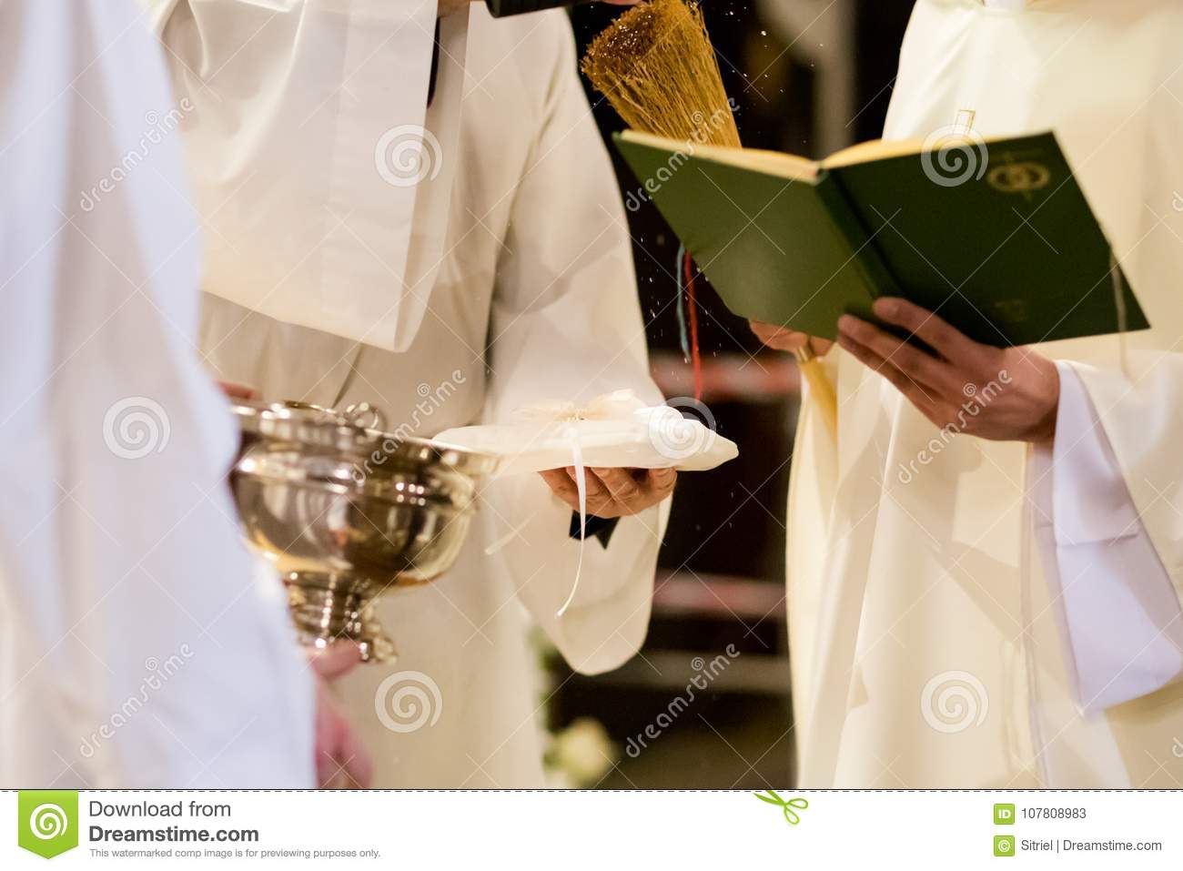 photo depositphotos priest blessing sonyachny wedding rings stock
