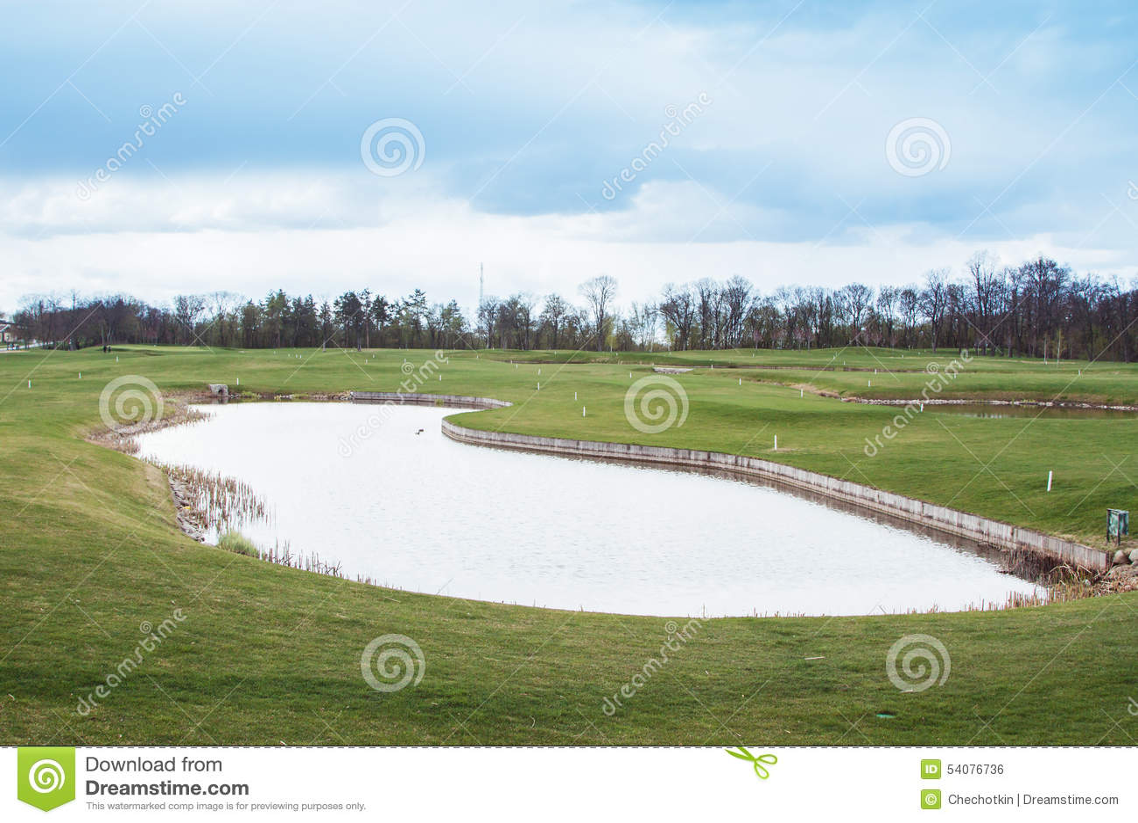 Privé golfgebied
