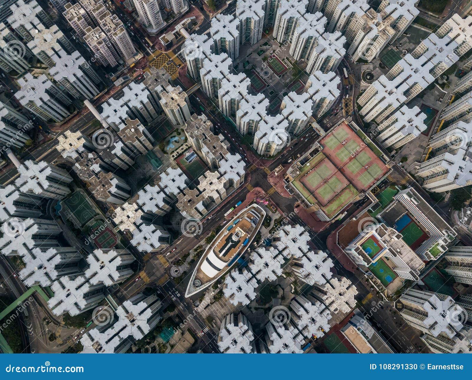Privé huisvesting van Hong Kong