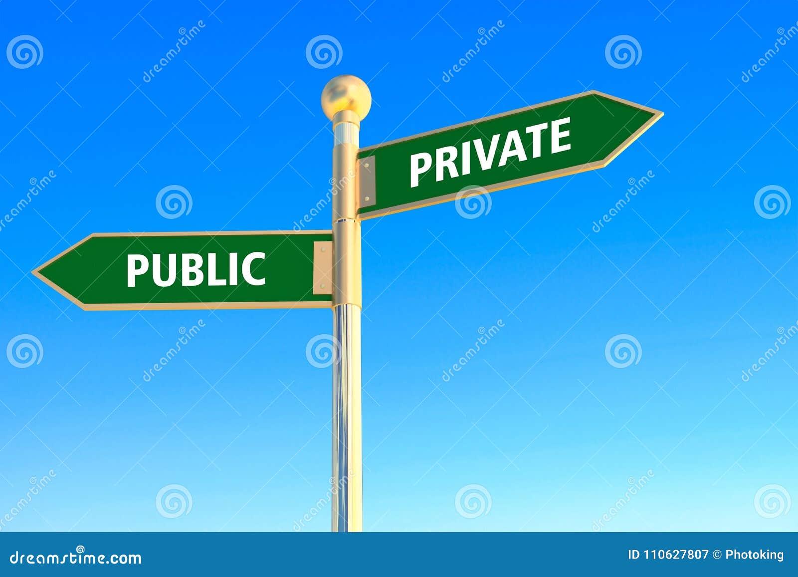 Privé of Openbaar