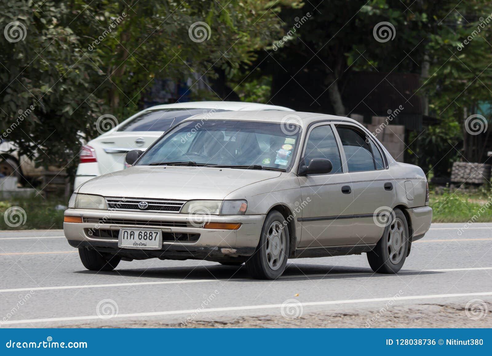 Privé Oude auto, Toyota Corolla