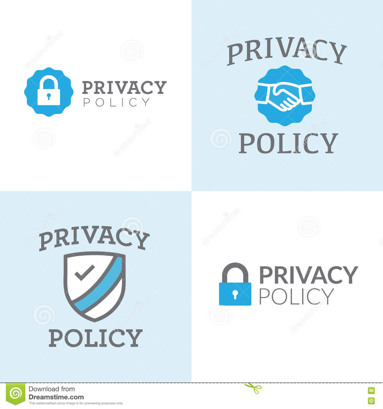 Privacy Policy: Privacy Policy Sign Shows Company Data Protection Royalty