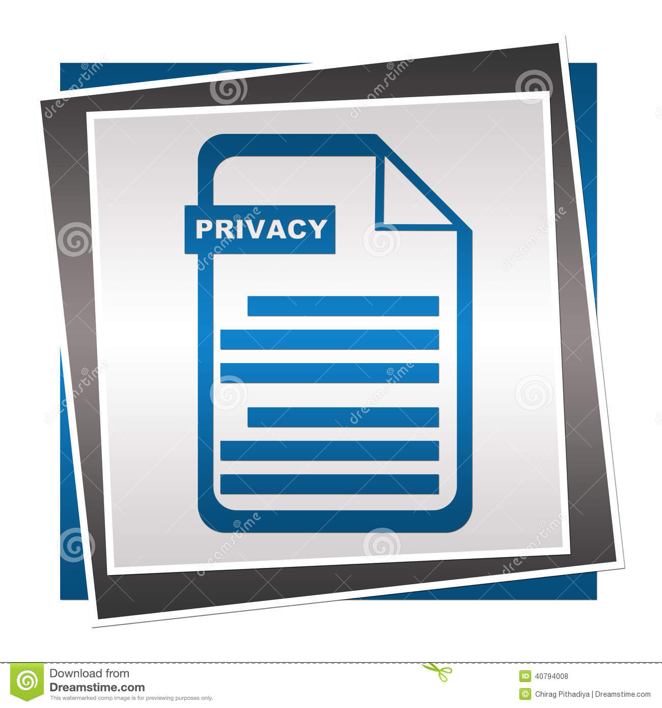 Free privacy policy text message