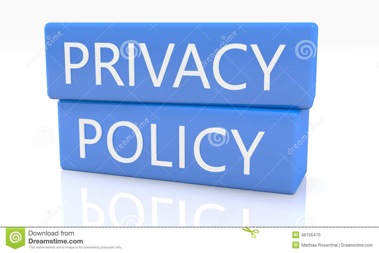 privacy policy document paper legal aggreement signed stamp