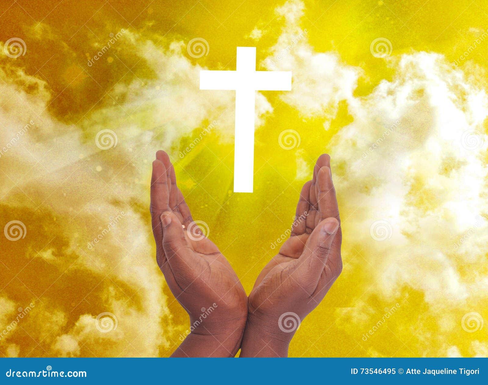PRIVACY WITH SPIRITUAL CHRISTIAN CROSS